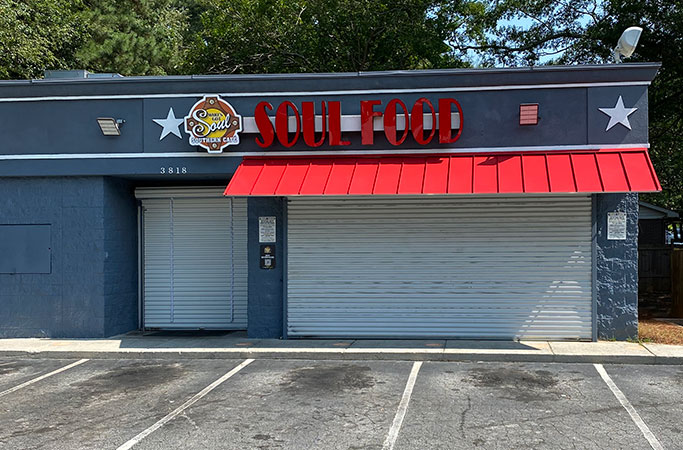 red awning soul food